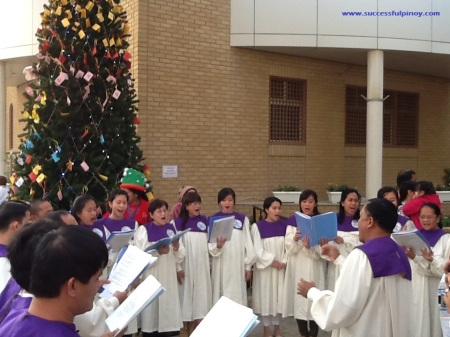 Christmas Choirs in Kuwait