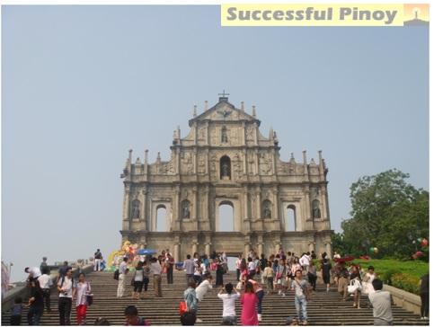 St Paul Ruins Macau