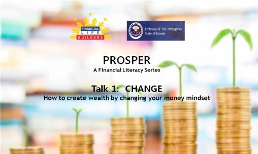 Prosper Talk 1 Change Blog