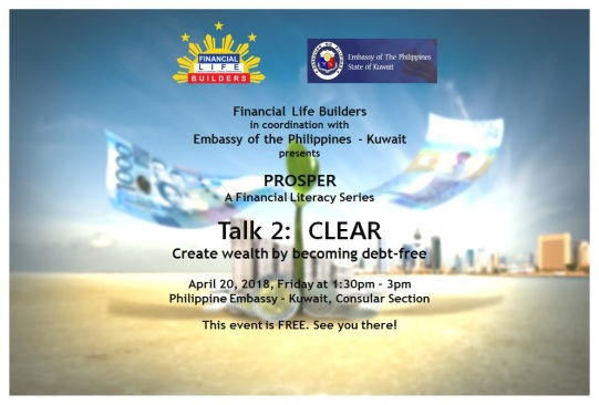 Prosper Talk 2 Clear Poster