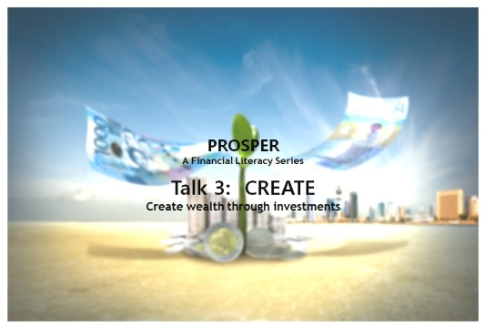 Prosper Talk 3 Create Blog